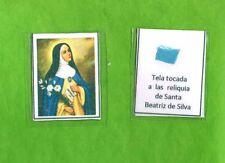 Reliquia – Reliquiario – Santino - Santa Beatrice de Silva Meneses