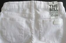"Joe's Girls White ""The Bell"" Jenny Jeans (5) NWT"