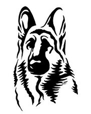 German Shepherd Shepard Dog leash training K9 STICKER DECAL