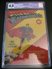 SUPERMAN #2 1939, CGC 4.0 (R), (Should be Higher!) **BEAUTIFUL, COLORFUL GEM!**