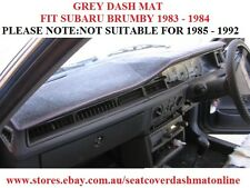 DASH MAT, DASHMAT, DASHBOARD COVER FIT SUBARU BRUMBY 1983-1984 ONLY, GREY
