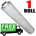 1 ROLL OF STRONG CLEAR STANDARD PALLET STRETCH WRAP 400mm X 200m SHRINK WRAP