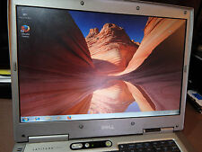 "Dell Latitude D800 15.4"" SCREEN, 1.25 GIG RAM ,40GIG HDD ,WIN 7 PRO LAPTOP"