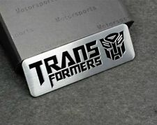 Transformers Emblem Badge for Hyundai Ford Skoda high quality Alloy Chrome