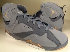 Nike Air Jordan 7 VII Retro (GS) Blue Dusk Gold Youth SZ 6Y (442960-407)