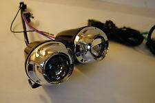 Photon Twin Motorcycle projector Headlight Housing high / low streetfighter