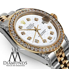 Rolex Ladies 78273 Datejust 2 Tone 31mm White Color Jubilee Diamond Dial Watch