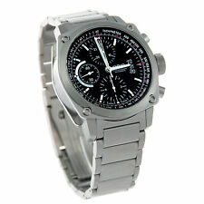 Oris BC4 Men's Automatic Chronograph Watch Stainless Steel Case 674-7616-4154MB