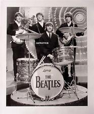 VINTAGE BEATLES 11X14 POSTER LENNON McCARTNEY LUDWIG DRUMS PHOTO MUSIC ART PRINT