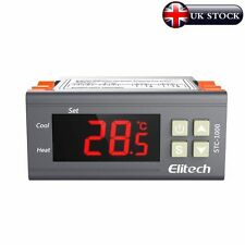 Elitech (Reino Unido) 220V Digital USTC - 1000 -50 ℃~ 99 ℃ Termostato Regulador De Temperatura