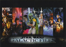 2013 STAR WARS GALACTIC FILES 2 COMPLETE 350 CARD SET + 4 CHASE SETS