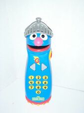 2011 SESAME STREET TALKING SUPER GROVER PRETEND REMOTE CONTROL HASBRO BABY TOY