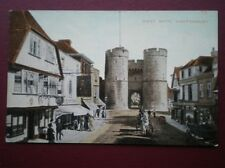 POSTCARD KENT CANTERBURY - WEST GATE C1910