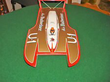RC Unlimited Hydroplane Miss Budwiser hull  22 Inches Long 1/12 th scale ?