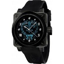 Christian Audigier The VIF Analog Black Rubber Strap Unisex Watch FOR-203