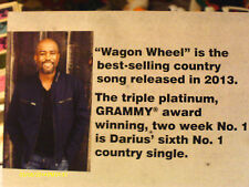 Darius Rucker 2014 ACM Voter Request Booklet