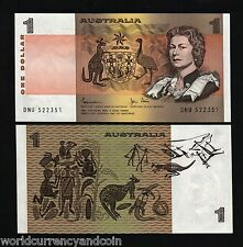 AUSTRALIA 1 Dollar P42 1983 ANIMAL YOUNG QUEEN UNC CURRENCY MONEY BILL BANK NOTE