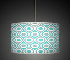 30cm Blue Grey Geometric Handmade lampshade Ceiling pendant light Shade 562