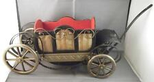 Vintage Musical 'How Dry I Am' Buggy Carriage Decanter Bottle Holder Bar Ware