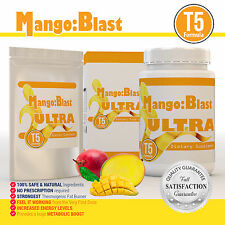 60 STRONG AFRICAN MANGO BLAST ULTRA T5 EXTREME FAT BURNER WEIGHT LOSS DIET PILLS