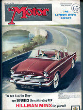 The Motor Magazine October 28 1959 Hillman Minx VGEX 121915jhe