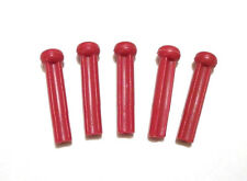 Lot  5  NEW REPLACEMENT KNIFTY KNITTER PEGS ROUND KNITTING LOOM SPARE RED PEG