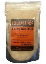 Hickory Smoked Salt, 18 Ounce Size by Eldon's Sausage and Jerky Supply Ekc-085