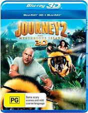 Journey 2: The Mysterious Island - 3D + 2D Blu-ray, 2-Disc Set (New & Sealed)
