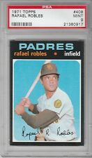 1971 Topps Baseball Rafael Robles #408 PSA 9 (LOW POPULATION - ONE OF SEVEN 9's)