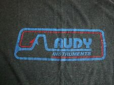 Vintage AUDY Instruments Musician Music That Obeys Thin T Shirt M