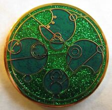 Time Lord Geocoin - Cretaceous Period Edition - Glitter Enamel!
