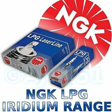 4x NGK Iridium LPG Spark Plugs For SUBARU FORESTER (SG) 05