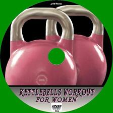 KETTLEBELLS WORKOUT FOR GIRLS STEP BY STEP HEALTH & FITNESS GUIDE NEW  DVD