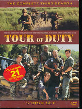 TOUR OF DUTY - The Complete Third Season 3 (DVD, 2005, 5-Disc Set) - NEW SEALED