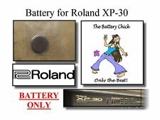 Battery for Roland XP-30 Synthesizer - Internal Memory Replacement Battery