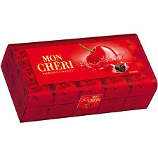 Mon Cheri Cherry Liquor filled Chocolate Cubes 315g NEW 30 pcs