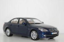 Kyosho BMW 550i E60 Deep Sea Blue 80430417410 1:18 Dealer Edition