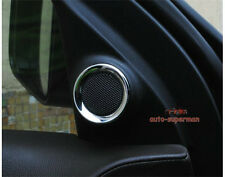 Chrome Front Door sound Stereo Speaker Cover trim For JEEP Grand cherokee 11-17