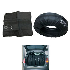 """4Pcs SUV Pickup Spare Wheel Tyre Tire Carry Tote Protection Storage Bag 16""""-22"""""""