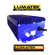 1000w Lumatek Ballast &  Bulb 1000w HPS Lumatek Lamp