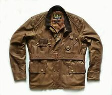 "VERY RARE BARBOUR "" WAX TRIALS "" MOTORCYCLE JACKET - LGE  - £329 STEVE MCQUEEN"