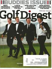 Golf Digest January 2013 Buddies Issue/Shoot in the 80s/Rivals and Friends
