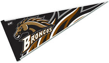 "Western Michigan University Broncos 12"" X 30"" College NCAA Pennant Flag"