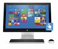 "HP 27qe Touch-Screen All in One 27 27"" i7-6700T Quad 16GB 2TB Blu-ray 4GB A360"