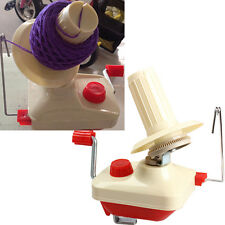 1Pcs Swift Yarn Fiber String Ball Wool Winder Holder Hand Operated Machine