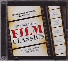 ROYAL PHILHARMONIC ORCH - THE GREATEST FILM CLASSICS on 2 CD'S - NEW -