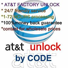 AT&T - UNLOCK SERVICE CODE ATT SAMSUNG GALAXY ANY MODELS - CLEAN IMEI 1-72 HOURS