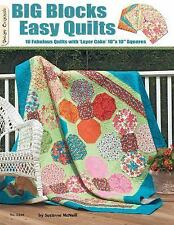 #5340 Big Blocks Easy Quilts, McNeill, Suzanne, New Books