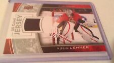 13-14 2013-14 UPPER DECK ROBIN LEHNER SERIES 1 UD GAME JERSEY RO SENATORS