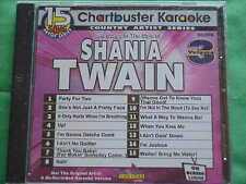 Shania Twain~#3~Chartbuster Karaoke~90268~~It Only Hurts When I'm Breathing~CD+G